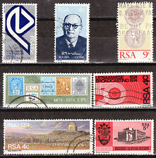 SOUTH AFRICA 1974 COMPLETE SINGLE ISSUES FOR THE 1974 YEAR 0240
