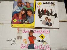 DVD SERIE REBELDE WAY 9 CAPITULOS EN 3 DVDS (56-67) USADA EN BUEN ESTADO