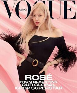 ROSE BLACKPINK K-Pop Superstar Vogue Australia April 2021 BRAND NEW