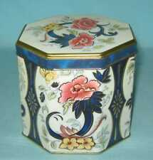 Vintage 8 Sided Tin Box by Daher Made in England-Good Condition