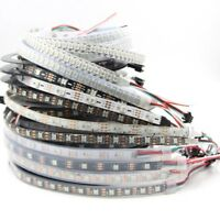 5V WS2812B led strip 5050 RGB 30/60/144 pixels dream color smart LED Addressable