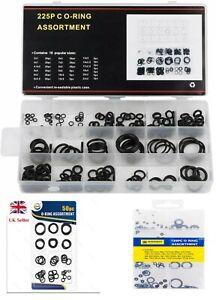 O RING SET Assorted O-Ring Pack Rubber ORing Seals Plumbing Tap Washer Kit