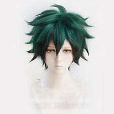 Anime My Hero Academia Deku Izuku Midoriya Short Cosplay Wig With Hairnet
