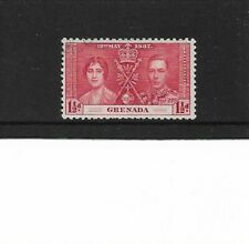 1937 Grenada - Coronation - Single Stamp - Mounted Mint.