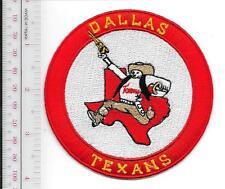 Football Dallas Texans American Foorball League AFL Team 1960 - 1962 Promo Patch