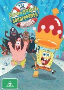 The SPONGEBOB SQUAREPANTS Movie DVD BEST ANIMATED FAMILY FILM BRAND NEW R4