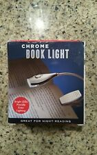 Chrome Book Light, great for Night Reading, New in Box
