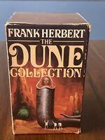 Frank Herbert The Dune Collection Berkley Paperback Box Set 4 Books