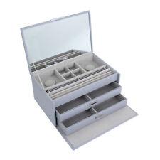 New Authentic PANDORA Large Jewellery Box Grey AUSP19023