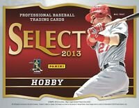 2013 Panini Select Baseball Complete Your Set Pick 25 Cards From List