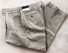 ALEXANDER JULIAN CLASSICS MENS SLACKS 100% COTTON SIZE 44W  30L NEW W TAGS