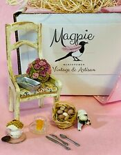 Miniature Dollhouse MAGPIE MINIATURES Vintage & Artisan Kitchen Decor Box 1:12