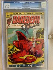 Daredevil #81 CGC 7.5 - Black Widow Stories Begin - Marvel Comics
