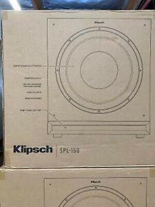 Klipsch SPL-150  Ebony Vinyl 400 Watts RMS/800 Watts Peak PoweR