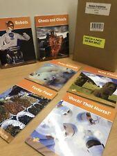 """Ransom Publishing """"Thunderbolt Read Books Set 4"""" • Pack Of 6 Books"""