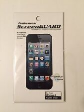Professional Screen Guard Crystal Clear For Apple Iphone 4 - 4s New!