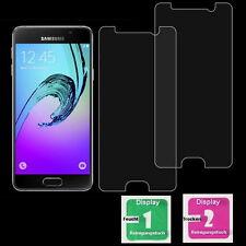 2x Samsung Galaxy A3 / 2016 / Schutzfolie Schutzglas 9H Echt Glas Panzerfolie