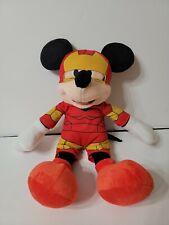 "Marvel Disney 16"" Mickey Mouse Iron Man  Super Hero Squad"