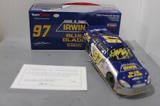 2005 Kurt Busch IRWIN Blue Blade Team Caliber Preferred 1/24 Autographed