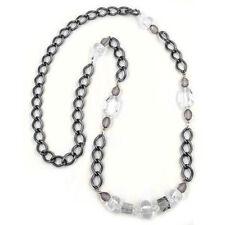 Modeschmuck-Halsketten & -Anhänger aus Kunststoff mit Kristall