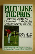 Dave Pelz Putt Like the Pros Golf-Fachbuch Scientific Way to Improving Your Play
