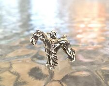 HOUSE PET PURE BREED ANIMAL JEWELRY 1 SCHNAUZER DOG PEWTER 3D CHARM All New.