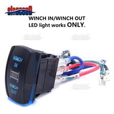 Blue Backlif Winch Control Rocker Switch Fit Can-am Polaris Honda Kawasaki Utv(Fits: John Deere)