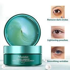30 Pairs JM Solution Marine Luminous Pearl Deep Moisture Eye Patch Anti Wrinkles