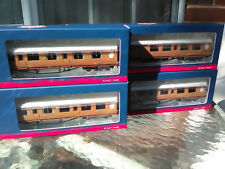Bachmann Thompson Teak coaches BNIB X 4 refs 34-410,460,435 and 385 BNIB