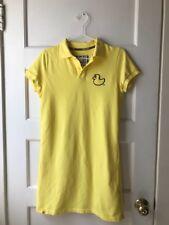 Pancoat K-Pop Brand Kara Gu Hara Yellow Polo Duck Dress Size Medium