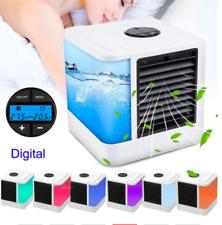 SUMMER Vivavoce collo Banda Da Appendere USB Ricaricabile Dual Fan Mini AIR COOLER