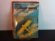 Kidco Combat Wings Yellow Fokker E-111 WW I Airplane w/ pkg