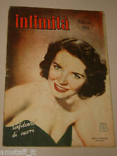 INTIMITA rivista GENNAIO 1952 n. 306 =POLLY BERGEN cover magazine =