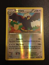 Braviary 93/114 XY Steam Siege REVERSE HOLO M/NM Pokemon Card *FREE SHIPPING*
