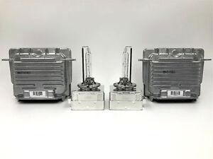 2x New OEM 13-17 Buick Enclave Xenon Ballast Control Unit & HID D3S Bulb Kit
