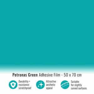 Pellicola Adesiva per Car Wrapping Verde Petronas 50 x 70 cm