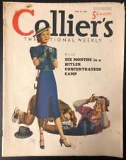 Collier's Jun 18, 1938 Seymour Ball Cover