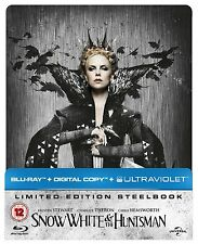 Snow White And The Huntsman - Blu ray Steelbook NEW & SEALED - UK Edition