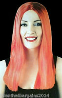 Luxury Wig Red Long Great for Fun Nights Out Perfect Moments Party