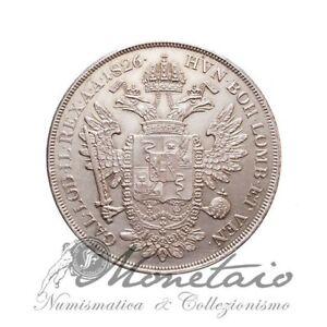 (Monetaio) Lombardo-Veneto Francesco I Scudo Nuovo da 6 Lire 1826 V qSPL