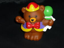 Fisher Price Little People Circus Animal Bear with Balloons