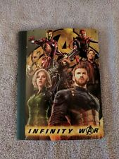 "Marvel Comics Avengers Infinity War Composition Notebok 100 Wide Rule 9.75""x7.5"""