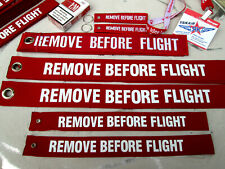 3er SET / Remove Before Flight XL / XXL Avion Aircraft YakAir fürs Flugzeug etc.