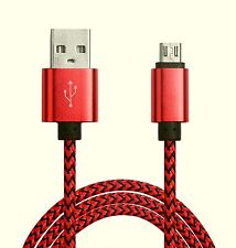 Micro USB Cable for LG G3 G4 Galaxy S7 S6 S4 HTC One Sony Charger Data Android