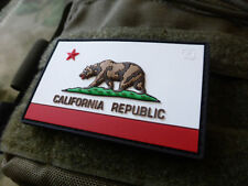 JTG California Republic State bear patch, Fullcolor/JTG 3d Rubber Patch