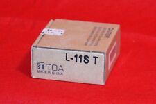 TOA Electronics L11ST Module, 600 Ohm, Mute Receive