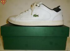 Lacoste Nistos White Sports Tennis Shoes Size 8.5 Mens