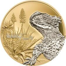 Cook Islands 2018 $5 Shades of Nature Sungazer Lizard 25 g Silver Proof Coin