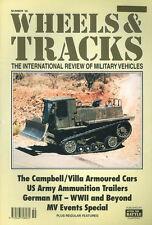 WHEELS & TRACKS 59 WEHRMACHT S MOTOR TRANSPORT / US ARMY AMMUNITION TRAILERS