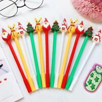 Christmas Gel Cute Santa Claus Pen for Writing School Office